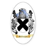 Bollwagen Sticker (Oval 10 pk)
