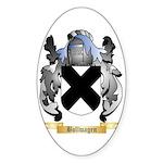 Bollwagen Sticker (Oval 50 pk)