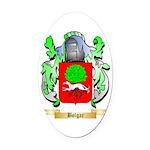 Bolgar Oval Car Magnet