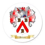 Boleyn Round Car Magnet