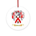 Boleyn Ornament (Round)