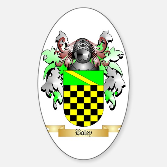 Boley Sticker (Oval)