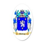 Bolding Oval Car Magnet
