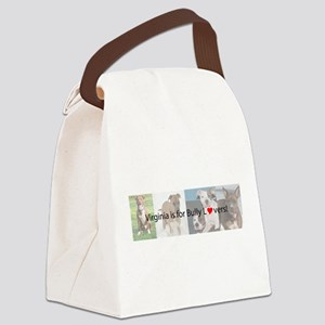 Bully Lover Canvas Lunch Bag