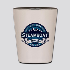 Steamboat Ice Shot Glass
