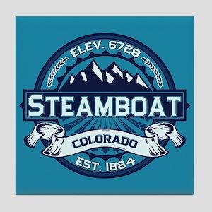 Steamboat Ice Tile Coaster