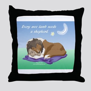 Wee Shepherd Throw Pillow