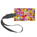 Eileen's Multifloral Large Luggage Tag