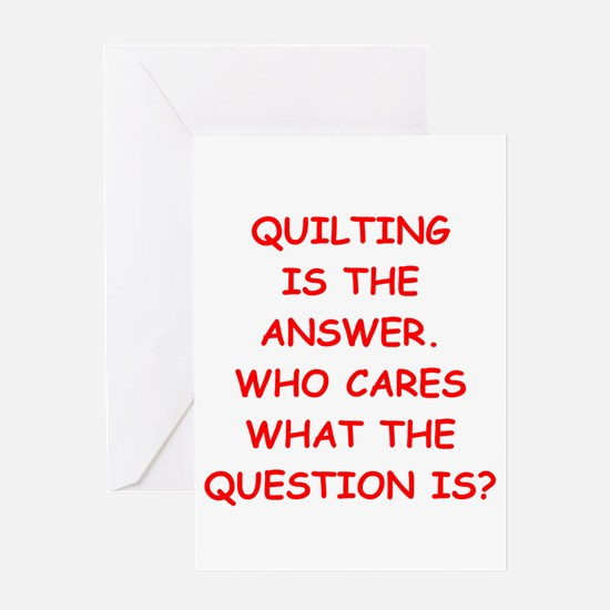 quilting Greeting Card