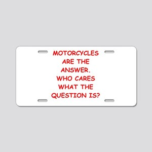 motorcycle Aluminum License Plate