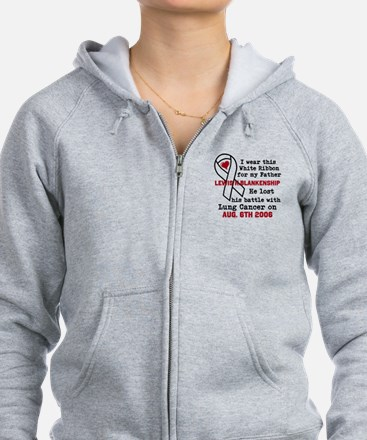 Personalize Name and Date Zip Hoodie