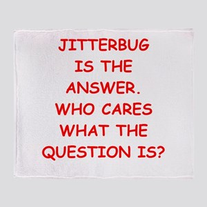 jitterbug Throw Blanket