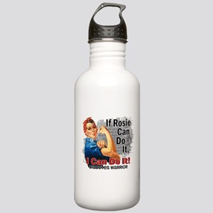 If Rosie Can Do It Diabetes Stainless Water Bottle