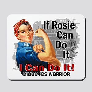 If Rosie Can Do It Diabetes Mousepad