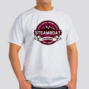 Steamboat Raspberry Light T-Shirt