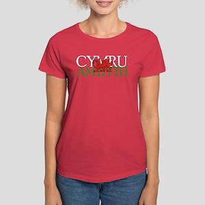 Cymru Am Byth Women's Dark T-Shirt