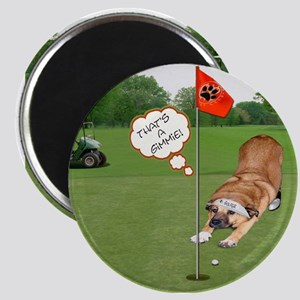 Chow Golfing Magnet