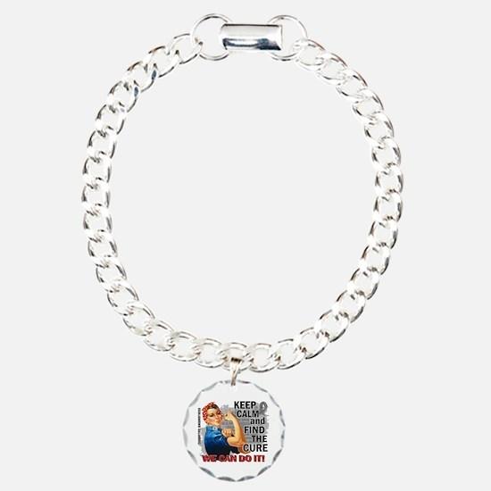 Rosie Keep Calm Diabetes Bracelet