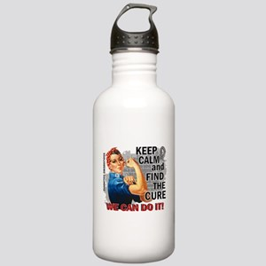 Rosie Keep Calm Diabetes Stainless Water Bottle 1.