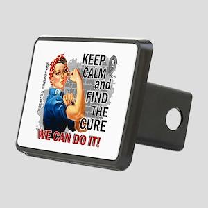 Rosie Keep Calm Diabetes Rectangular Hitch Cover