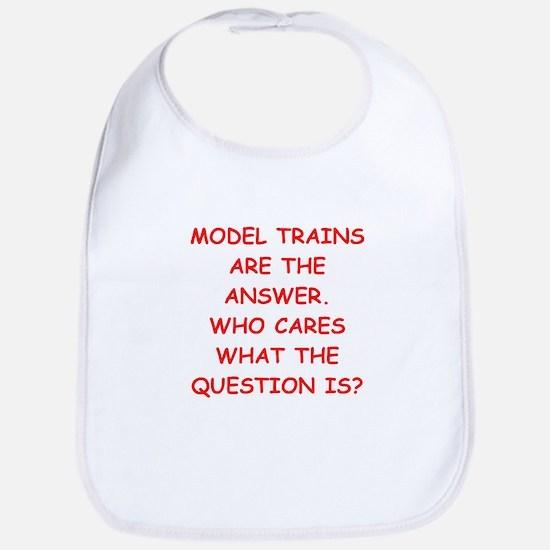 model trains Bib