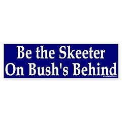 Be the Skeeter Bumper Bumper Sticker