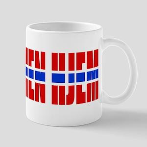 Velkommen Hjem Welcome Home Norse Mug