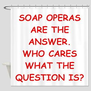 soap opera Shower Curtain