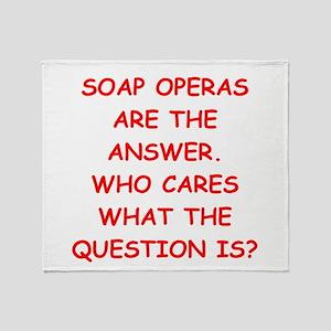 soap opera Throw Blanket