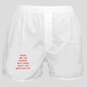 books Boxer Shorts