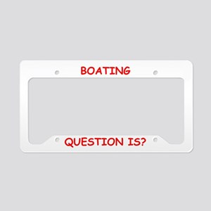 boating License Plate Holder