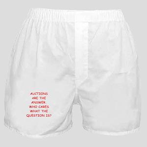 auction Boxer Shorts