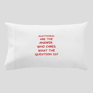 auction Pillow Case