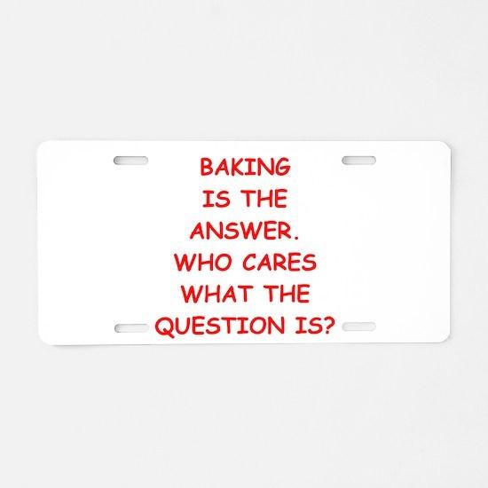 baking Aluminum License Plate