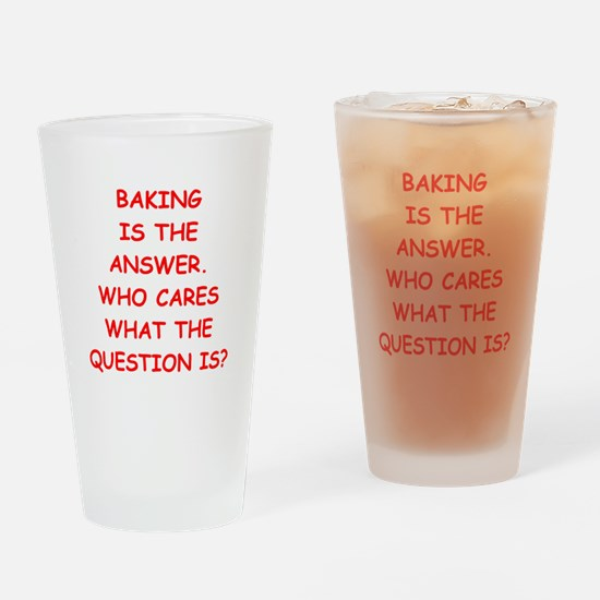 baking Drinking Glass