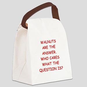 walnuts Canvas Lunch Bag
