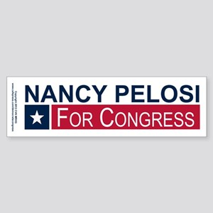 Elect Nancy Pelosi Sticker (Bumper)