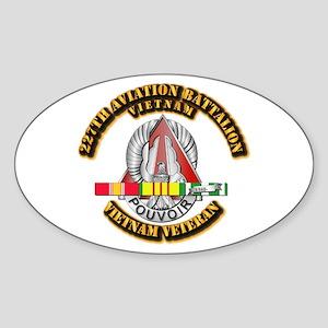 227 AVN BN w VN SVC Sticker (Oval)