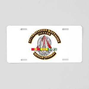 227 AVN BN w VN SVC Aluminum License Plate