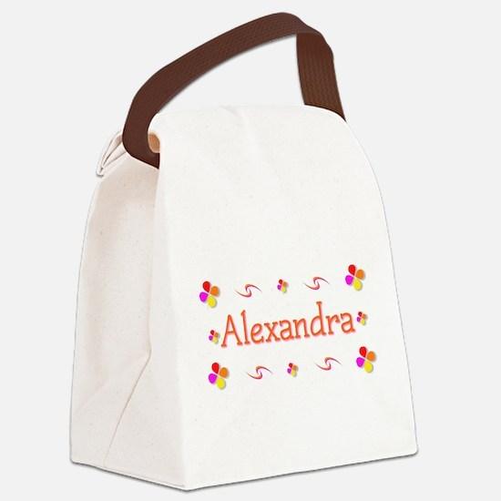 Alexandra 1 Canvas Lunch Bag