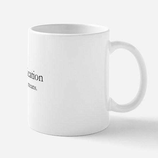 I.e. Worthless on Mug