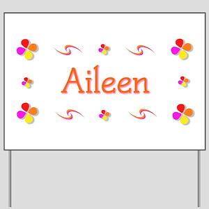 Aileen 1 Yard Sign