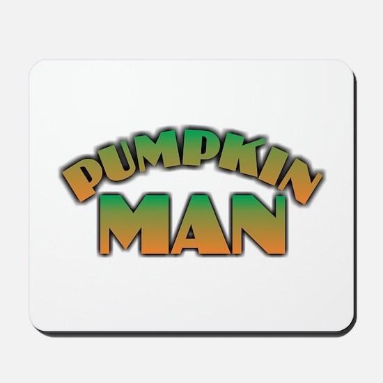 Pumpkin Man Mousepad