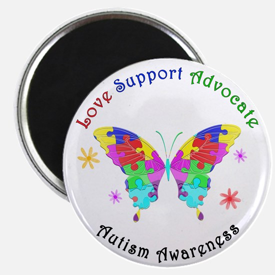 Autism Butterfly Magnet