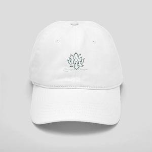 Buddha Lotus Flower Peace quote Baseball Cap