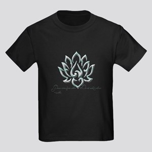 Buddha Lotus Flower Peace quote T-Shirt