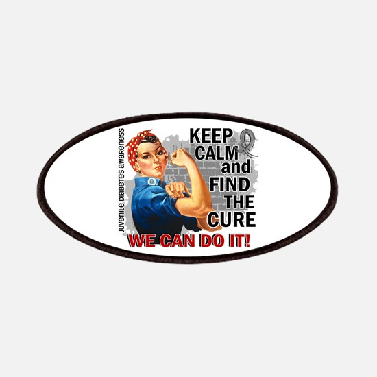 Rosie Keep Calm J Diabetes Patches