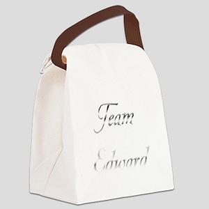 Team Edward Canvas Lunch Bag