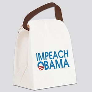 Impeach Obama Canvas Lunch Bag