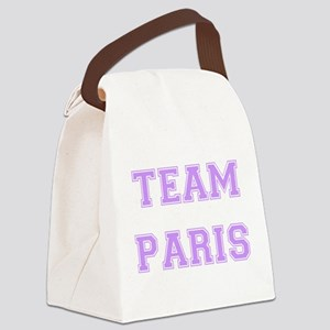 Paris Lavender trans Canvas Lunch Bag